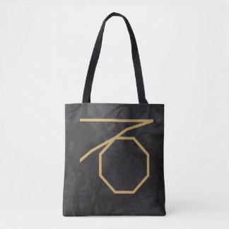 Capricornus Zodiac Sign | Custom Background Tote Bag