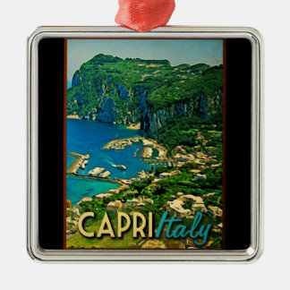 Capris Italy Vintage Travel Metal Ornament