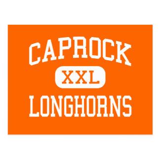 Caprock - Longhorns - High School - Amarillo Texas Postcard