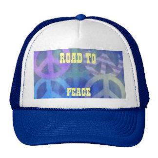 CAPS - ROAD TO PEACE STREETGEAR - SKATEBOARDING TRUCKER HAT
