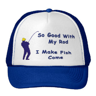 Caps with attitude trucker hat
