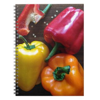 Capsicums... Notebooks