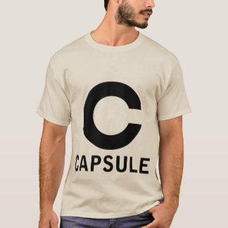 Capsule logo tee (black graphic)