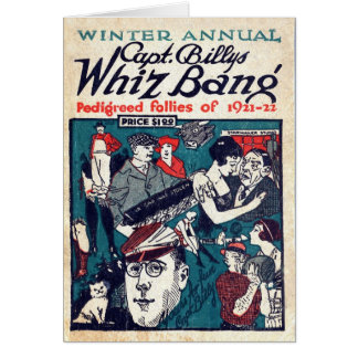 Capt. Billy's Whiz Bang - Card