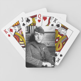 Capt. Edward Rickenbacker, America's_War Image Playing Cards