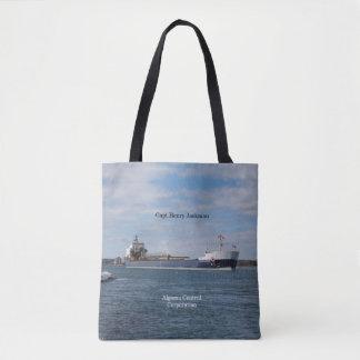 Capt. Henry Jackman all over tote bag
