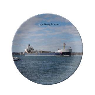 Capt Henry Jackman decorative plate