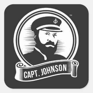 Capt. Johnson Sticker