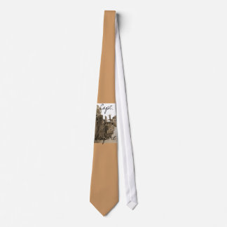 Capt.'s Cove  Boardwalk Tie (Sepia)  002