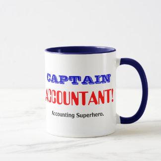 Captain Accountant Accounting Superhero