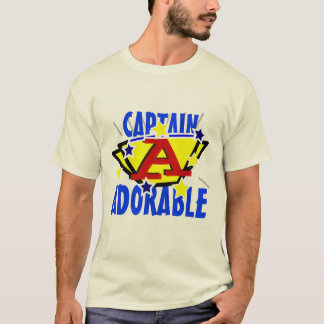 Captain Adorable Funny Tee