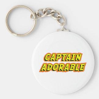 Captain Adorable Key Chain