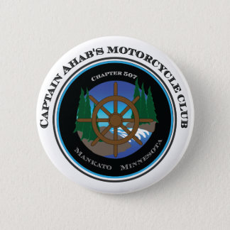 Captain Ahab's Motorcycle Club 2 Inch Round Button