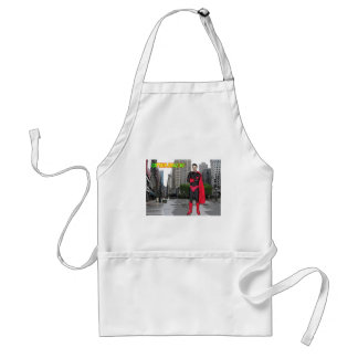 Captain Amazing Back In Black Aprons