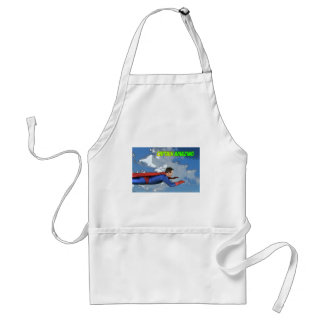 Captain Amazing Flying- Side Aprons