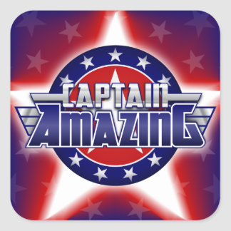 Captain Amazing Sticker