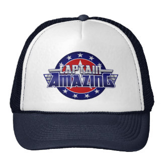 Captain Amazing Trucker Hat