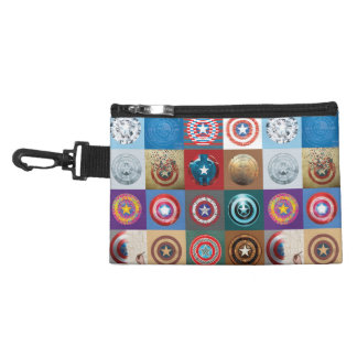 Captain America 75th Anniversary Shield Patchwork Accessories Bags