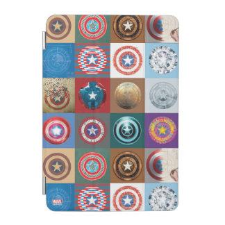 Captain America 75th Anniversary Shield Patchwork iPad Mini Cover