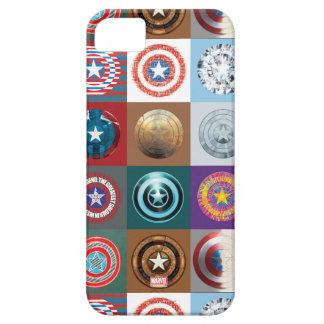 Captain America 75th Anniversary Shield Patchwork iPhone 5 Cases