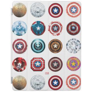 Captain America 75th Anniversary Shield Pattern iPad Cover
