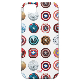 Captain America 75th Anniversary Shield Pattern iPhone 5 Cover
