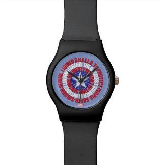 Captain America Alias Typography Shield Wristwatch