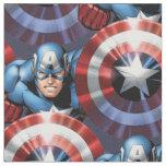 Captain America Assemble Fabric
