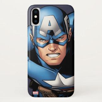 Captain America Assemble iPhone X Case