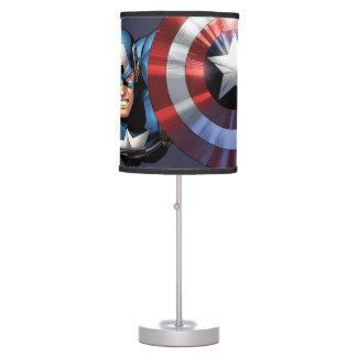 Captain America Assemble Table Lamp