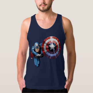 Captain America Assemble Tank Top
