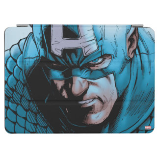Captain America Avengers Comic Panel iPad Air Cover