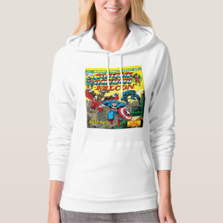 Captain America: Bust-Out Hoodie