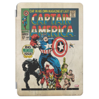 Captain America Comic #100 iPad Air Cover