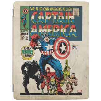Captain America Comic #100 iPad Cover