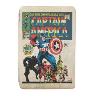 Captain America Comic #100 iPad Mini Cover