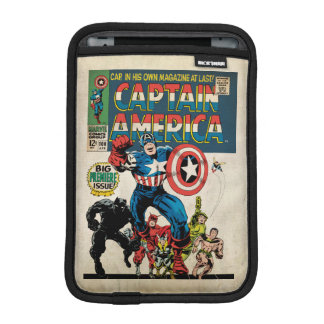 Captain America Comic #100 iPad Mini Sleeve