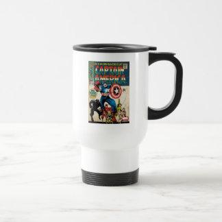 Captain America Comic #100 Travel Mug