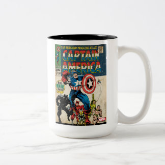 Captain America Comic #100 Two-Tone Coffee Mug