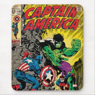 Captain America Comic #110 Mouse Pad