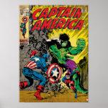 Captain America Comic #110 Poster