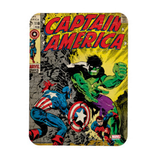 Captain America Comic #110 Rectangular Photo Magnet