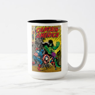 Captain America Comic #110 Two-Tone Coffee Mug