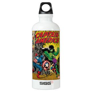 Captain America Comic #110 Water Bottle