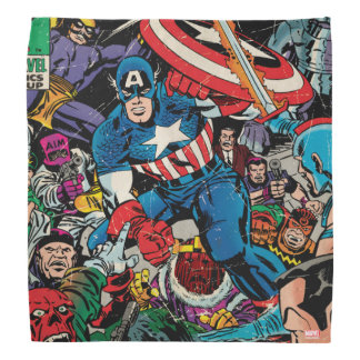 Captain America Comic #112 Bandana