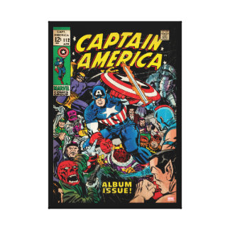 Captain America Comic #112 Canvas Print