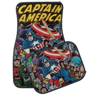 Captain America Comic #112 Car Mat