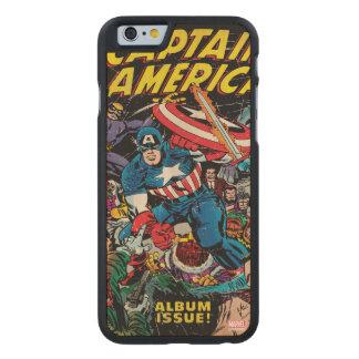Captain America Comic #112 Carved® Maple iPhone 6 Slim Case