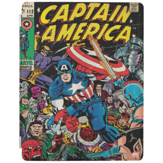 Captain America Comic #112 iPad Cover