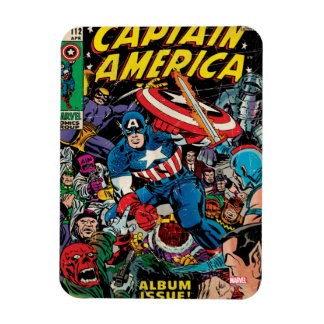 Captain America Comic #112 Rectangular Photo Magnet